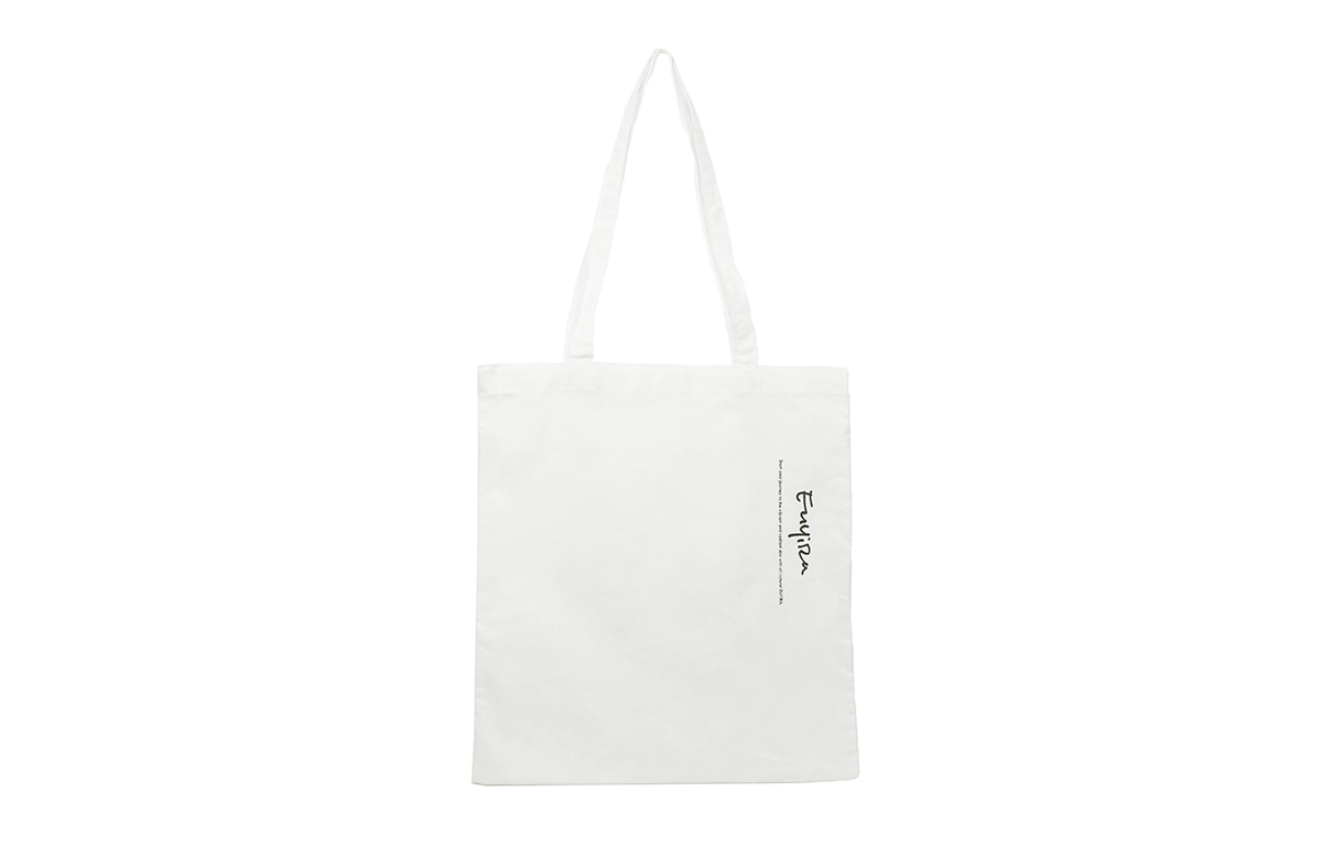 BASIC WHITE EUYIRA ECOBAG